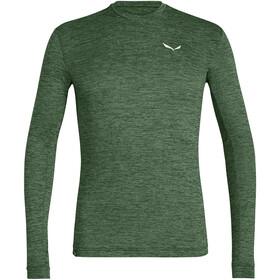 SALEWA Puez Melange Dry Longsleeve T-shirt Heren, groen